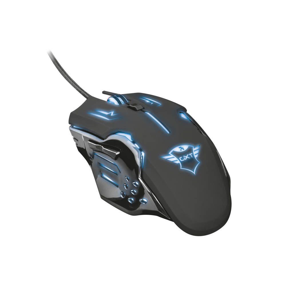 Mouse Gamer RGB 2000 dpi Trust Rava