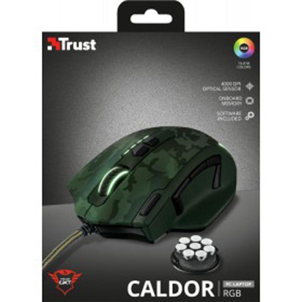 Mouse Gamer Trust GXT 155C RGB 4000DPI Camuflado