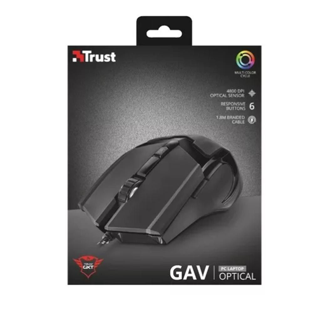 Mouse gaming trust gxt 101 4800 dpi