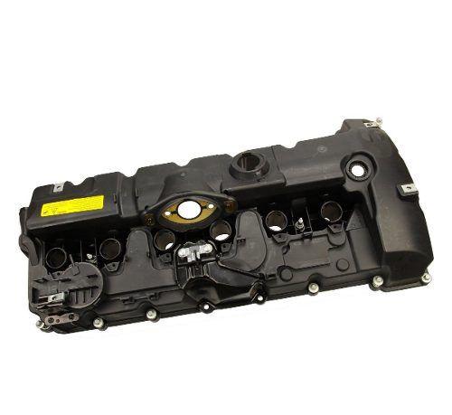 Tampa de válvulas BMW 325 330 2006 a 2011; X5 3.0 2007 a 2010; X3 2.5 e 3.0 2006 a 2010 com junta