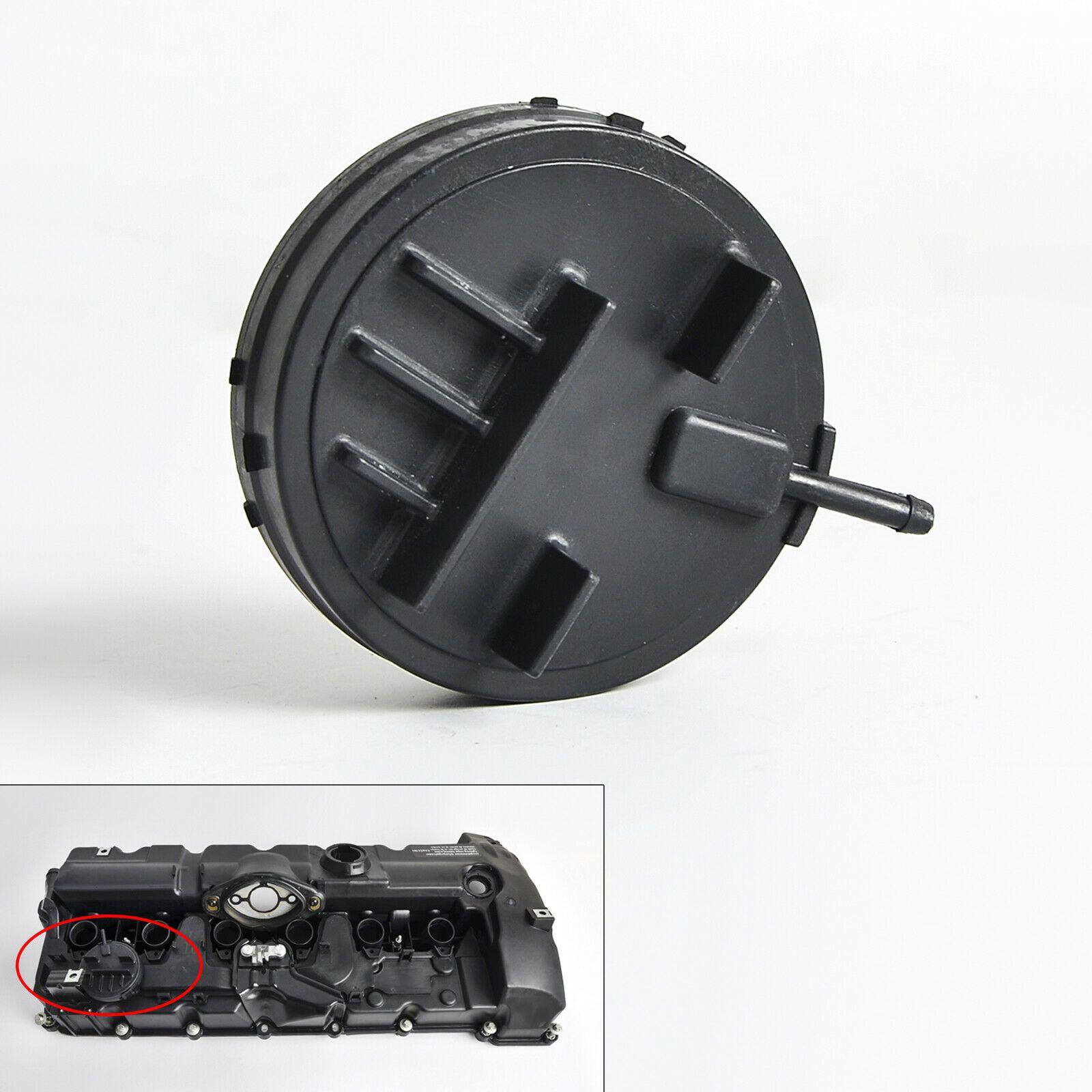 Diafragma com tampa da tampa de válvulas PCV BMW 325 330 2006 a 2012; 130 2005 a 2011; X1 28i 2008 a 2015; X3 2.5 e 3.0 2006 a 2010; X5 3.0 07/13;530 06/10; Z4 30i 09/16; Motor N52
