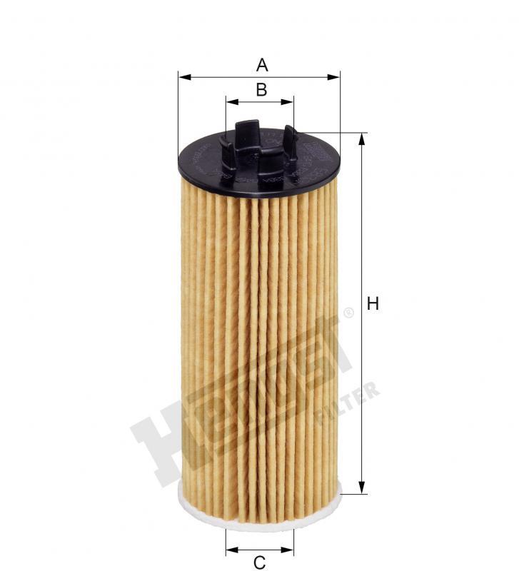Filtro de óleo B48 F48