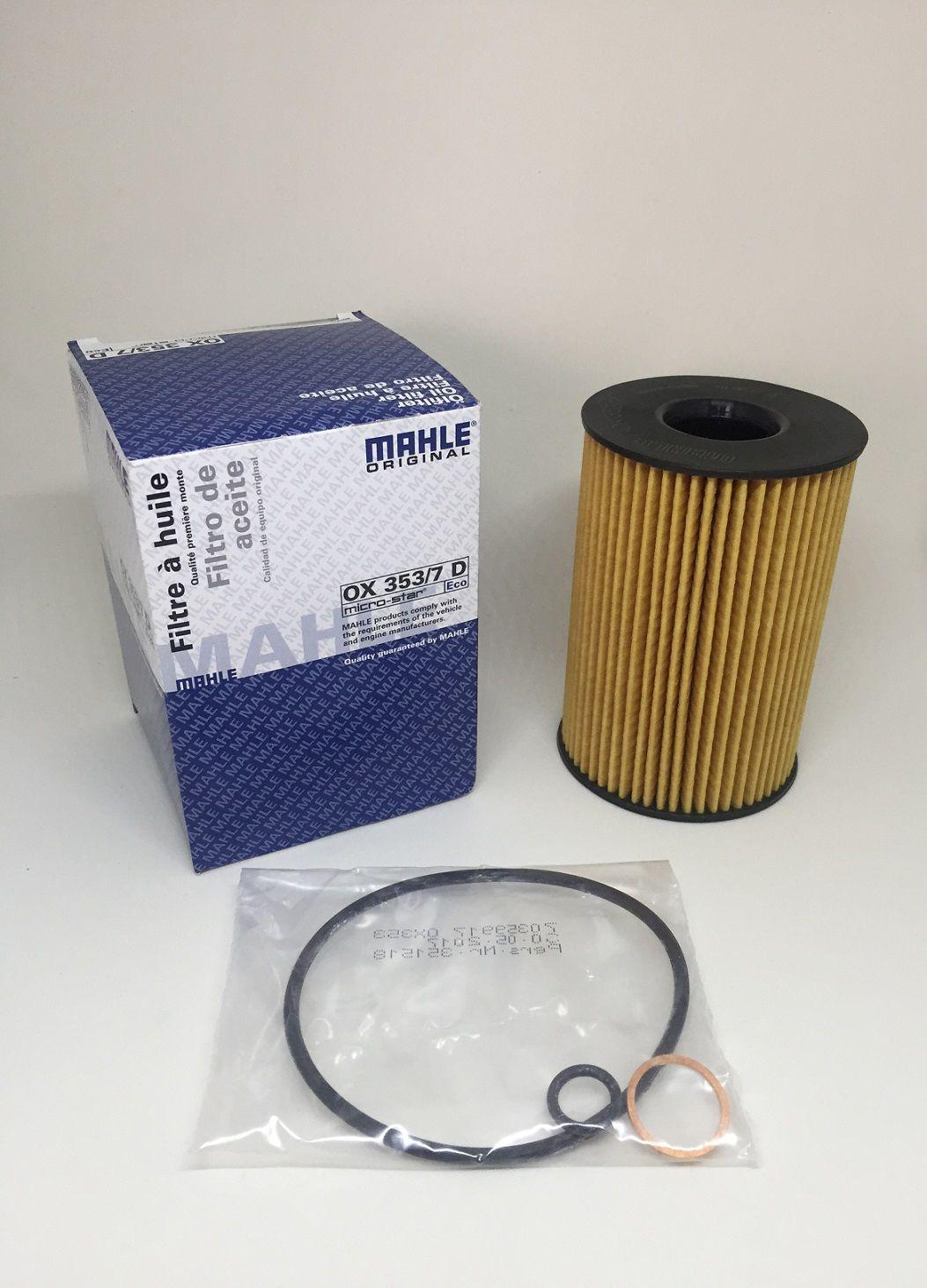 Filtro de óleo BMW X5 X6 50i 550 545 650 645 2008 2018