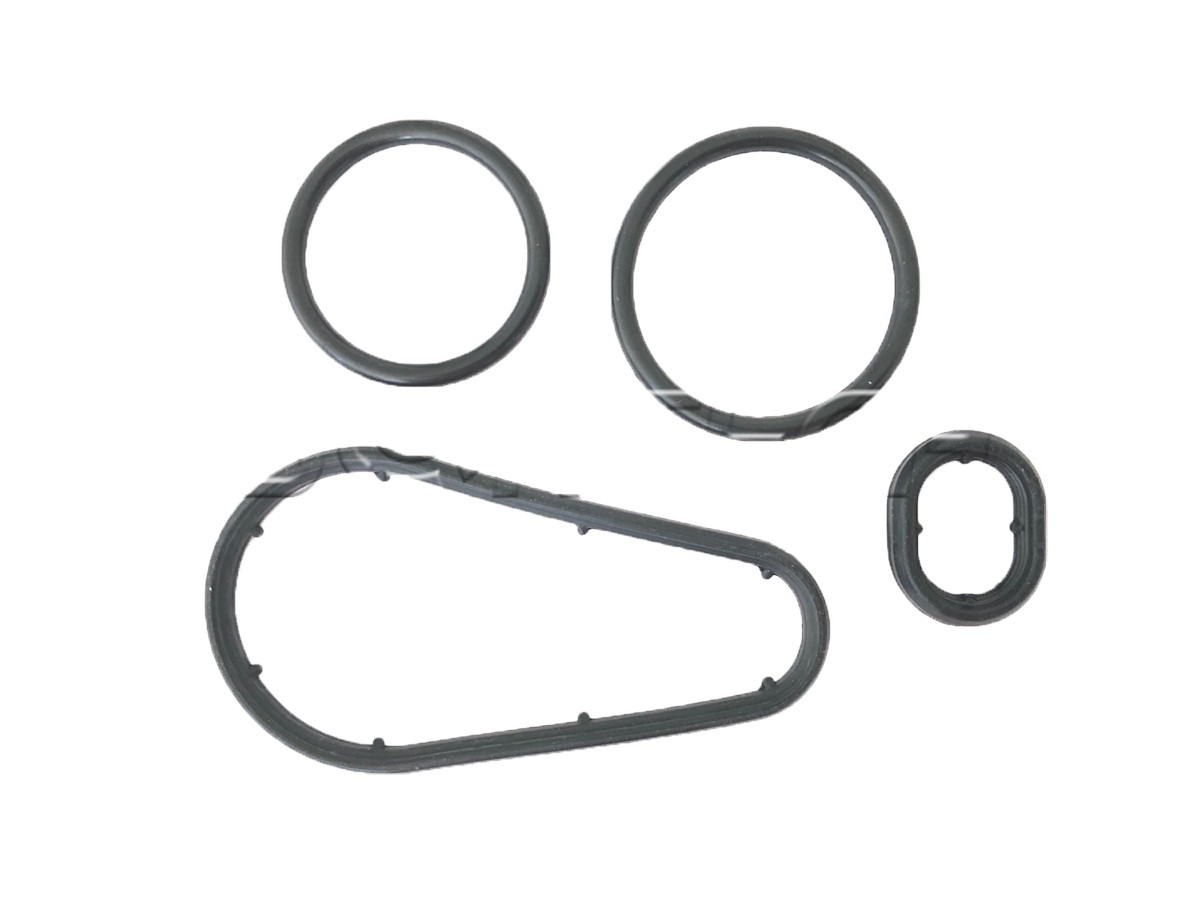 Junta suporte do filtro de óleo e borrachas Mercedes C180 C200 C250 2007 a 2014; E200 E250 2009 a 2017; SLK200 SLK250 2011 a 2015; Motor M271