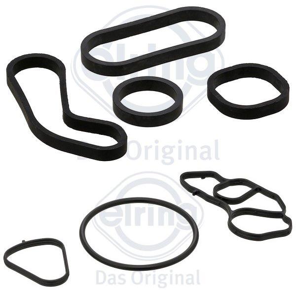 Junta suporte filtro e trocador Mini Cooper 1.6 T 2006 a 2017; Countryman 1.6 T 2010 a 2016; Clubman 2007 a 2014; Roadster Cabrio 2010 a 2015; Motor N14 e 18
