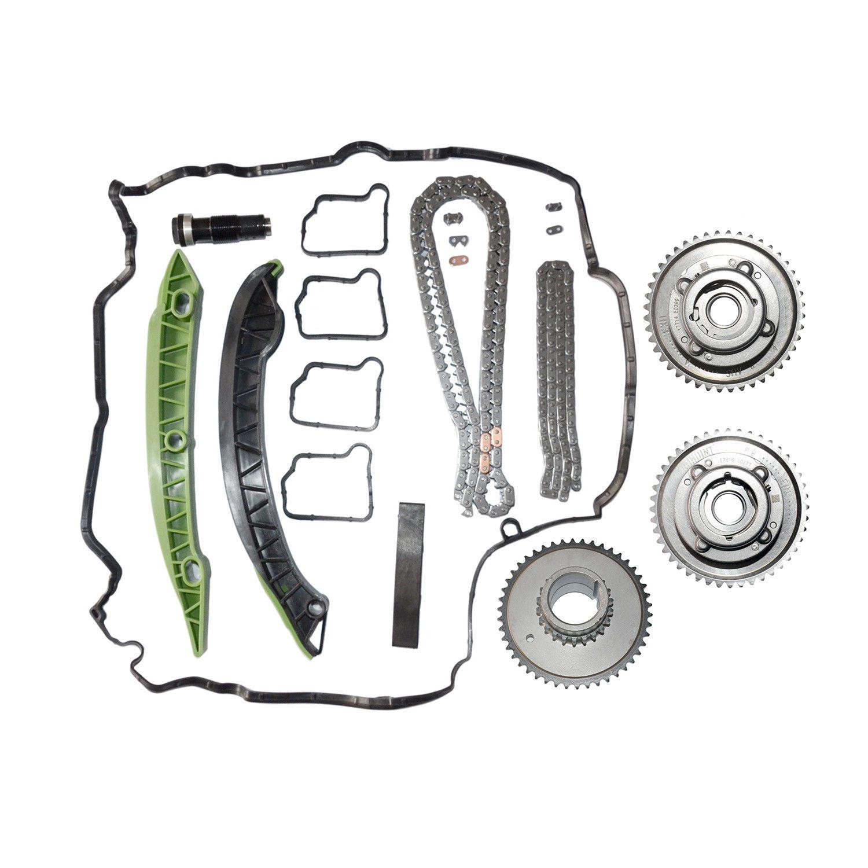 Kit de engrenagens, correntes e guias Mercedes C180 C200 C250; E200 E250; SLK200 SLK 250 de 2007 a 2015