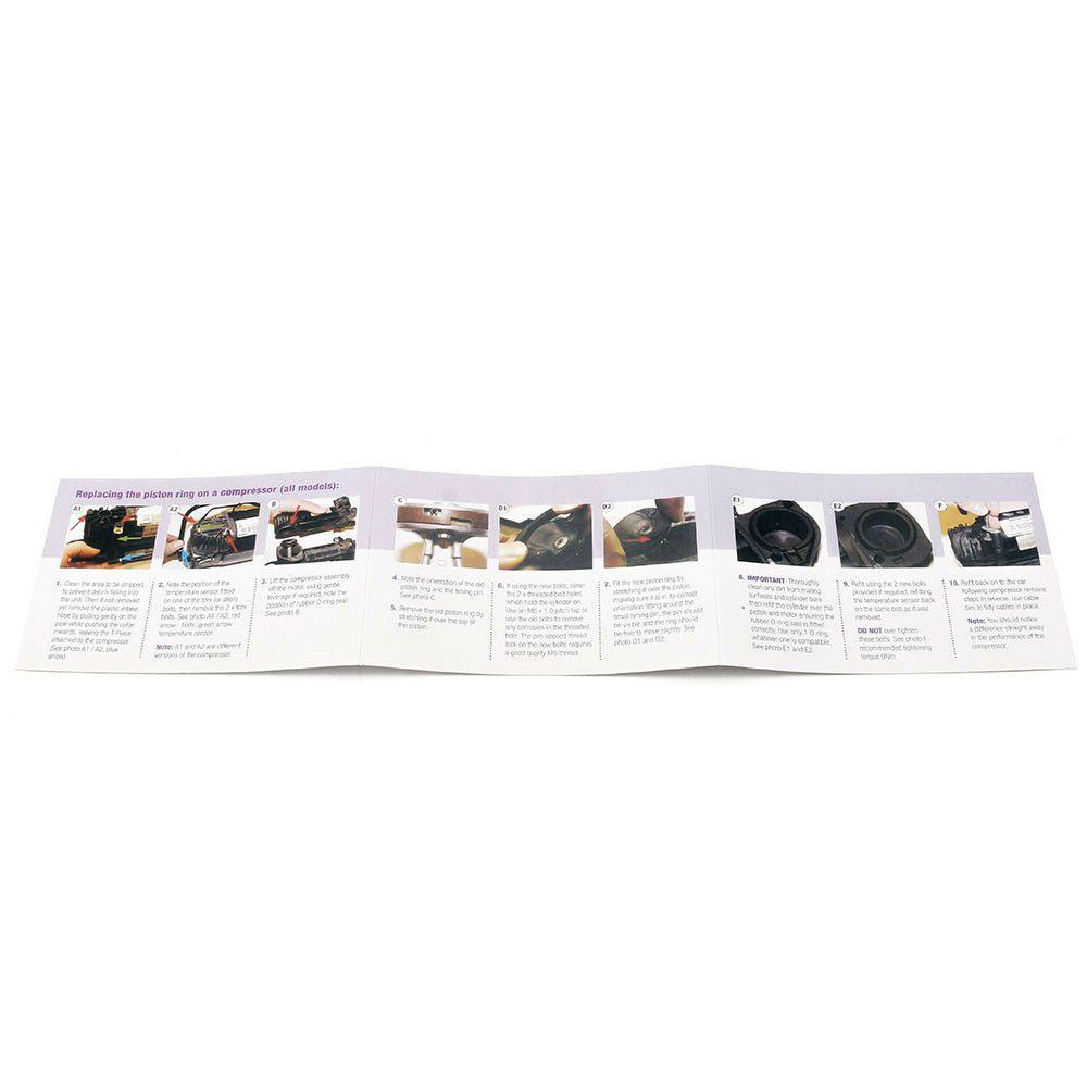Kit de reparo do compressor da suspensão BMW X5 2000/05; 528 1997/2003; Range Rover 2002/05; VW Touareg 2002/10; Jaguar XJ 2003/10; Compressor Wabco