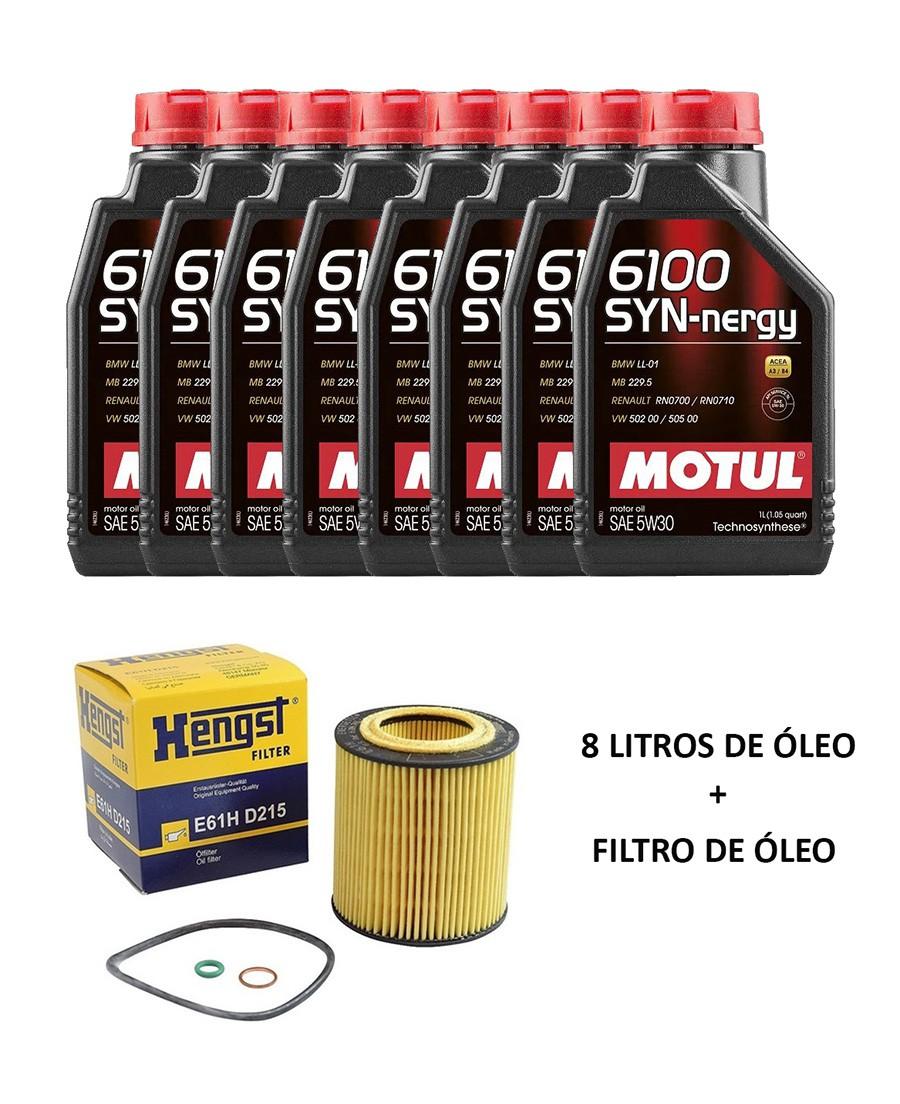 Kit troca de óleo BMW 325 330 335 2006 a 2012; X1 28i 2008 a 2015; 130 2005 a 2011; X3 2.5 3.0 35i 2006 a 2018; X4 35i 14/18; X5 X6 3.0 35i 2006 a 2018; 530 06/10;Motor N52 N54 N55