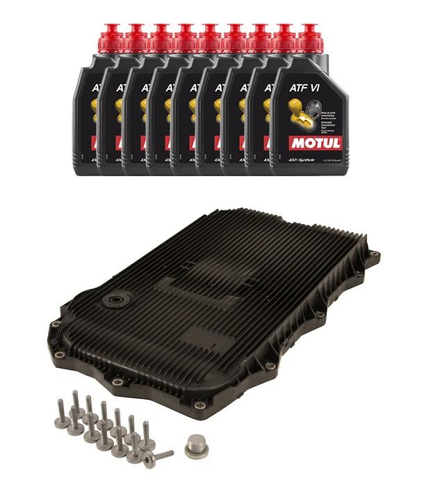Kit troca de óleo de Câmbio BMW 320 328 335 120 125 135 X3 X4 X5 X6 2012 a 2018 Câmbio 8HP