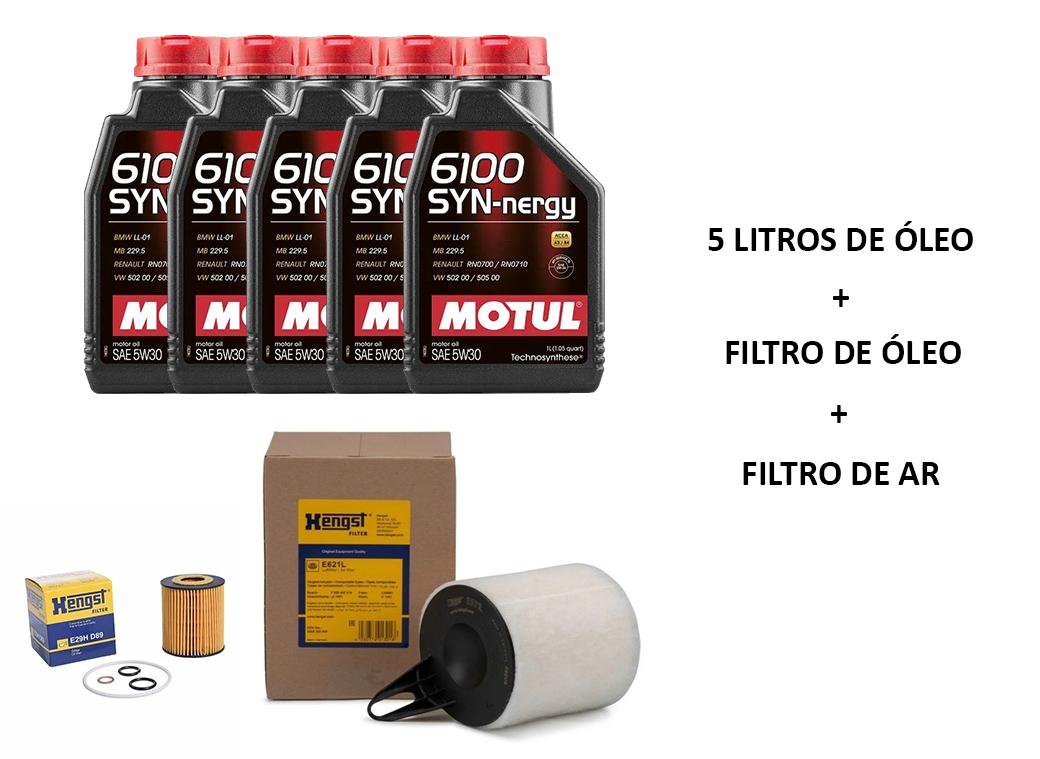 Kit Troca de Óleo e filtro Original BMW 320 318 2006 a 2012; 120 118 2005 a 2011; X1 18i 2008 a 2015; X1 20i 2008 a 2013; Motor N46N