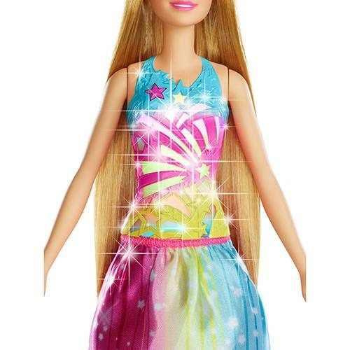 Boneca Barbie - Barbie Cabelos Mágicos Frb12 Mattel