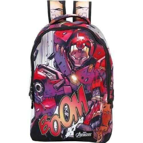 Mochila Teen Avengers Homem De Ferro T5 - 8070 - Xeryus