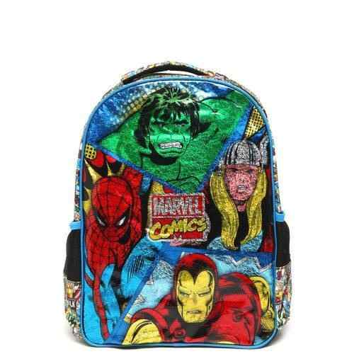 Mochila Escolar G Marvel Comics Panels 7072 Xeryus Promocao