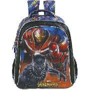 Mochila Infantil 16 Avengers Armored - 7492 Xeryus