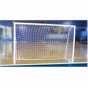Rede Futebol Salao Futsal Master Rede Fio 4mm Seda Malha Colmeia FS-L4C