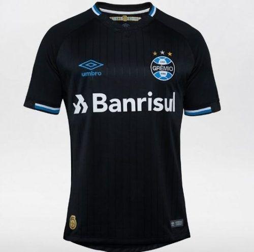 Camisa Umbro Gremio Iii 3 Preta 2018/2019 Num 10 Masculino