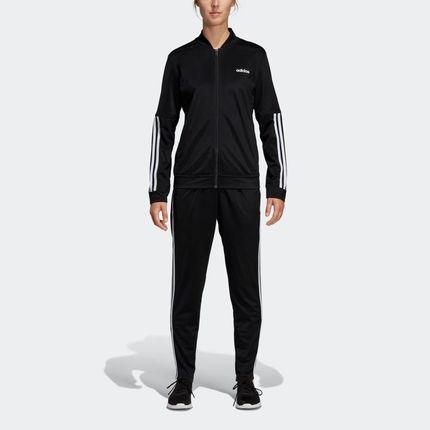 Agasalho Adidas WTS BACK2BAS 3S Feminino Preto