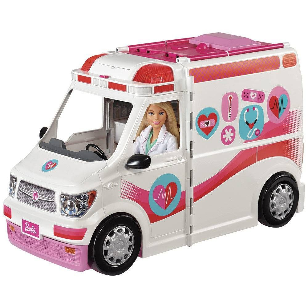 Barbie Hospital Móvel - Ambulância Da Barbie FRM19 - Mattel