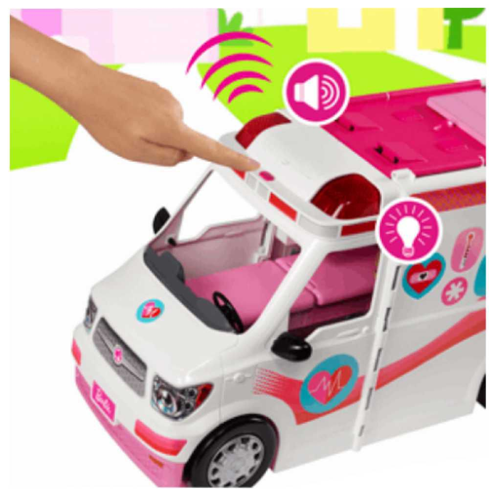 Barbie Hospital Móvel - Ambulância Da Barbie FRM19 - Mattel