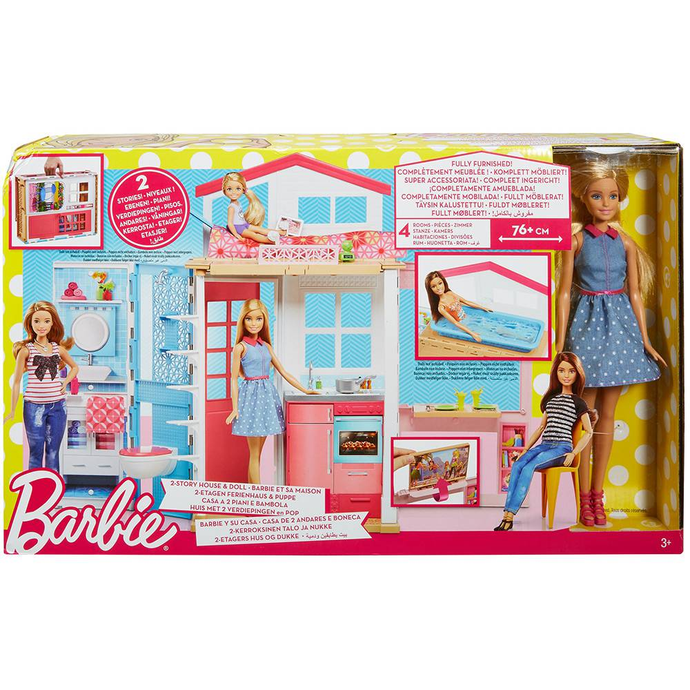 Barbie Real Barbie e Sua Casa DVV48 Mattel