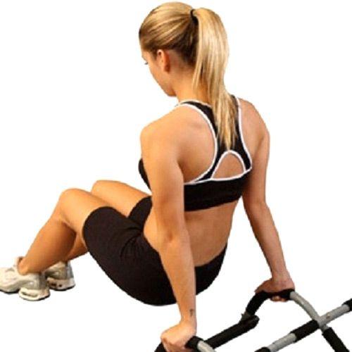 Barra Porta Fixa Multifuncional Flexão Exercícios Iron Gym Acte