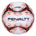 Bola de Futsal Penalty Rx R1 200 IX - Branco+Laranja
