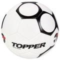 Bola Futsal Topper 90S - Branco+Preto