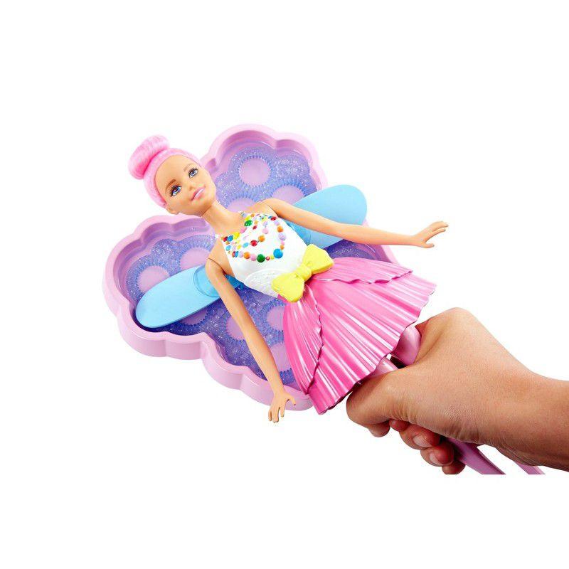Boneca Barbie Fantasia Fada Bolhas Mágicas DVM95 Mattel