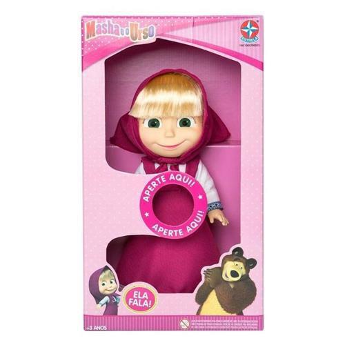 Boneca Masha 35cm Que Fala - Estrela