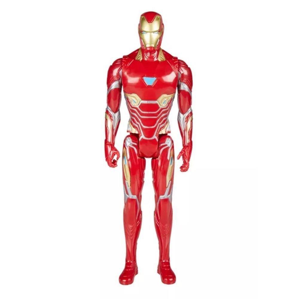 Boneco Homem de Ferro - Os Vingadores - Power Pack - E0606 Hasbro