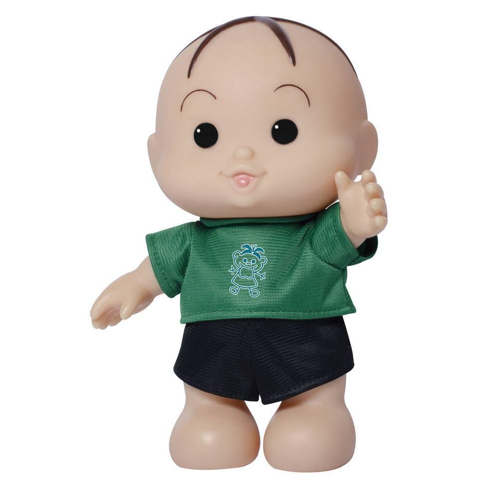 Bonecos Turma da Mônica Iti Malia Mônica e Cebolinha 23 cm Baby Brink