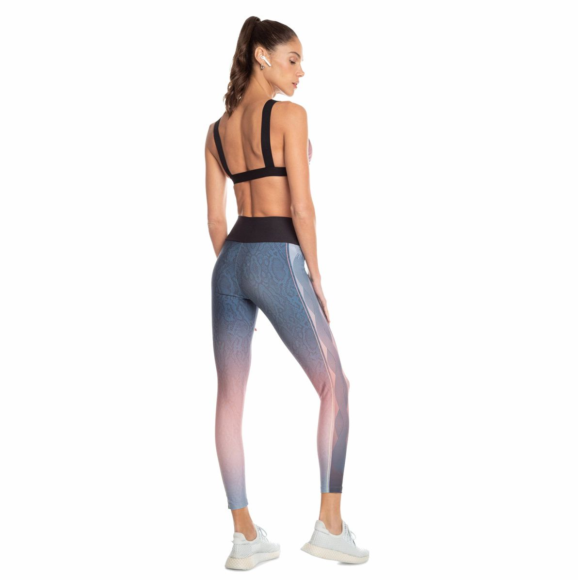 Calça Legging Live Sunset Snake Stroke Colors