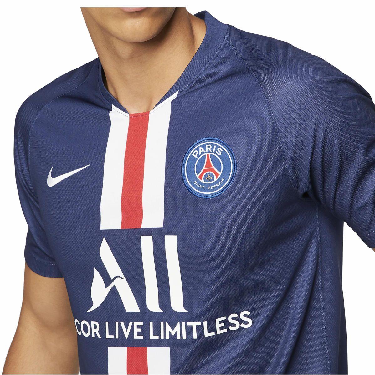 Camisa Nike PSG Paris Saint-Germain I 2019/20 Torcedor Pro Masculina