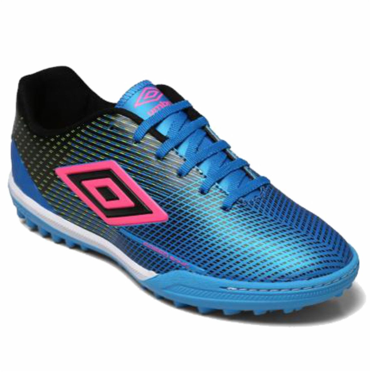 Chuteira Society Umbro Speed Sonic Azul