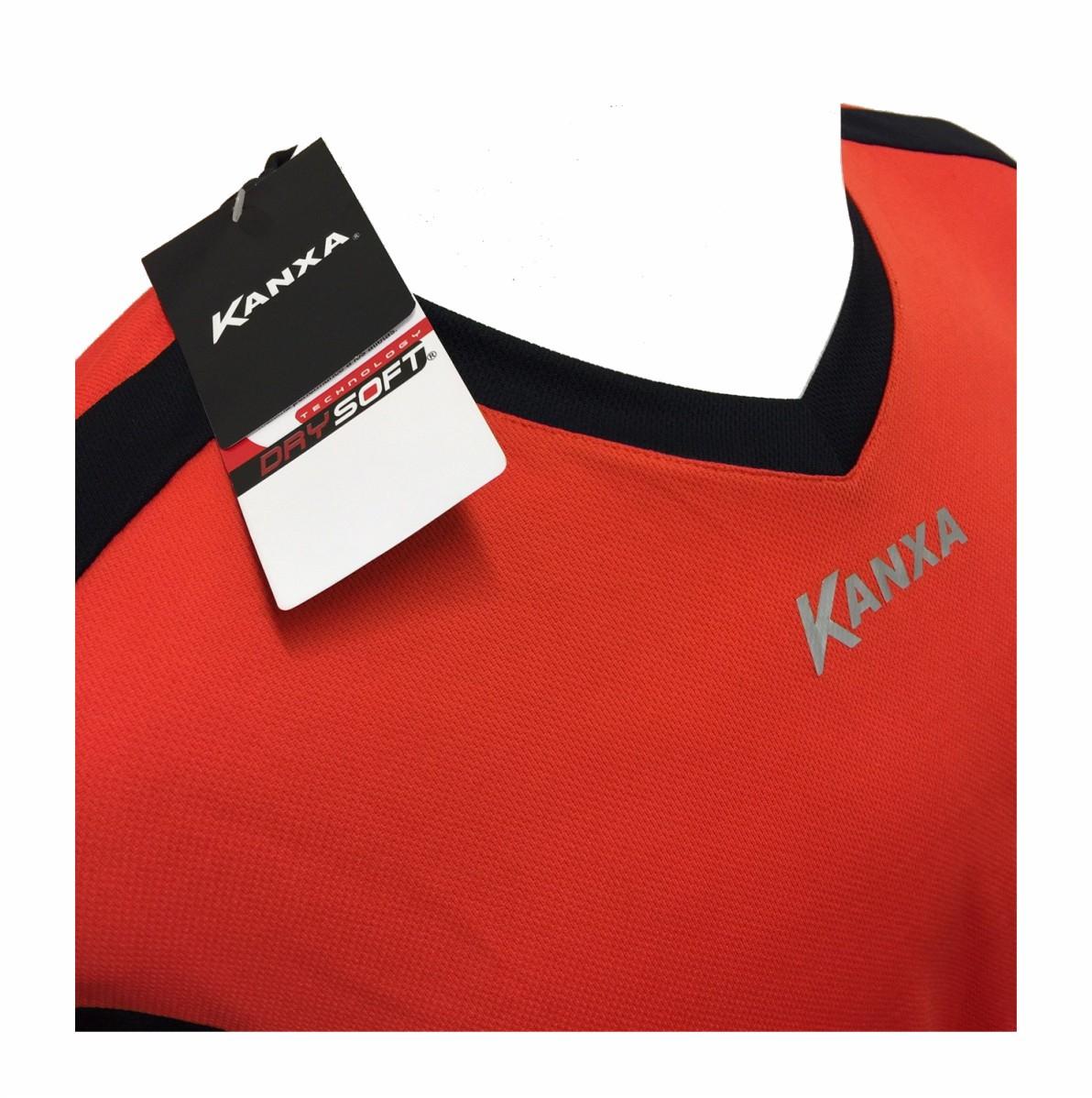 Jogo de Camisas Kanxa DrySoft Fardamento Futebol com 16 peças
