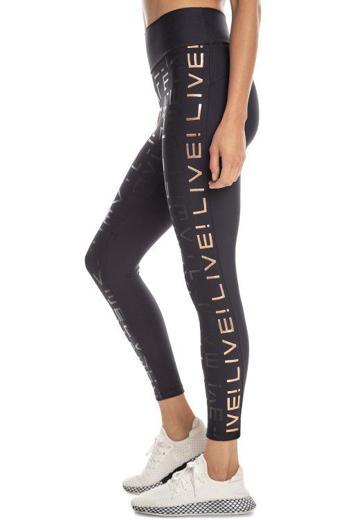 LEGGING LIVE ICON LUX 43381 PRETO