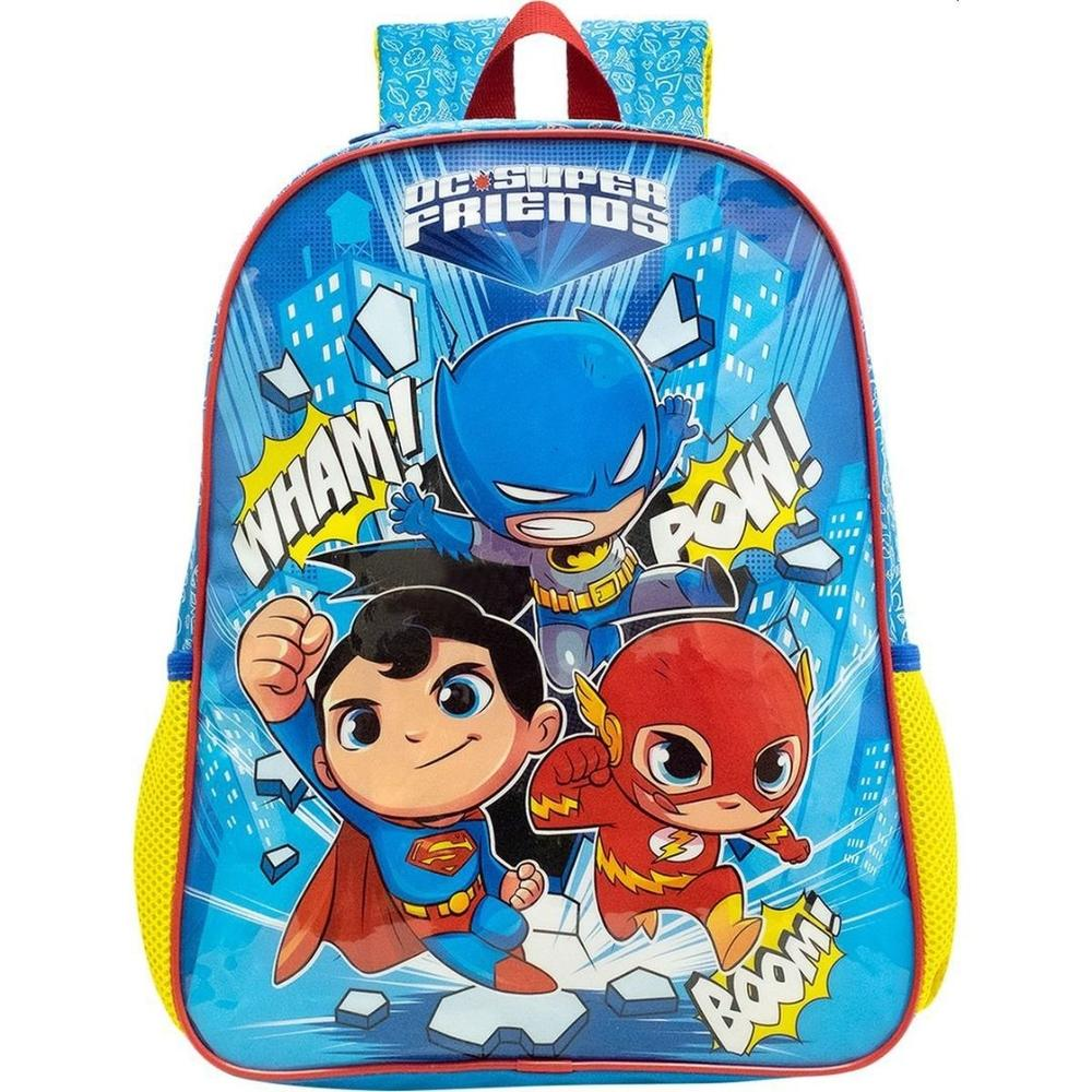 Mochila 16 DC Super Friends The Defenders G 9022 Xeryus