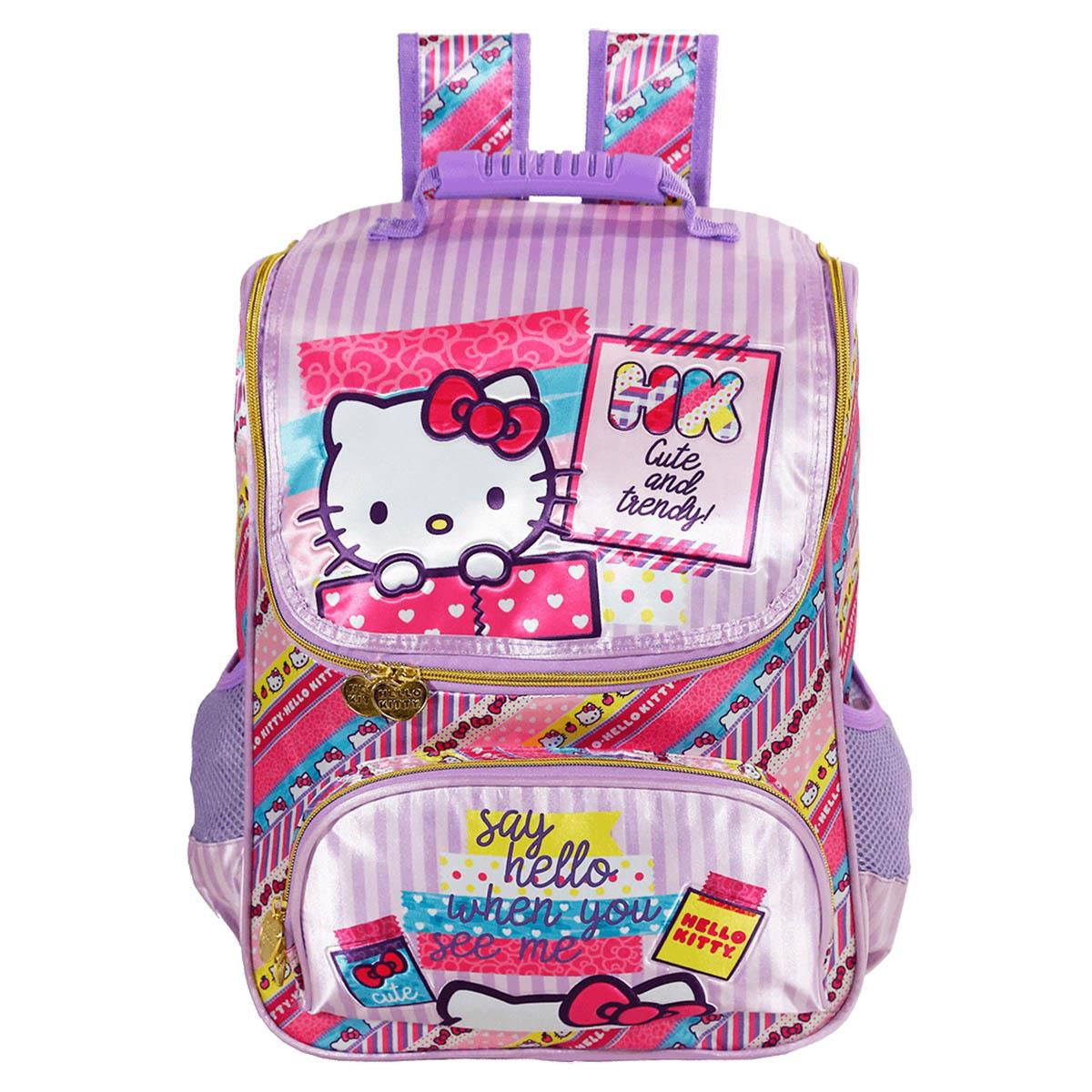 Mochila Hello Kitty Washi Pink