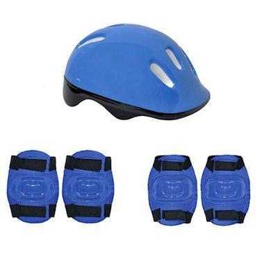 Patins Ajustavel Hot Wheels 33 A 36 Com Acessorios De Seguranca 8007-8 Fun