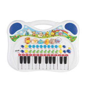 Piano Musical Anima Braskit sons de Animais Azul