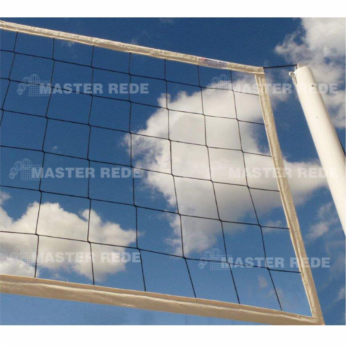 Rede de Volei 4 Faixas Sinteticas Master Rede VS-4