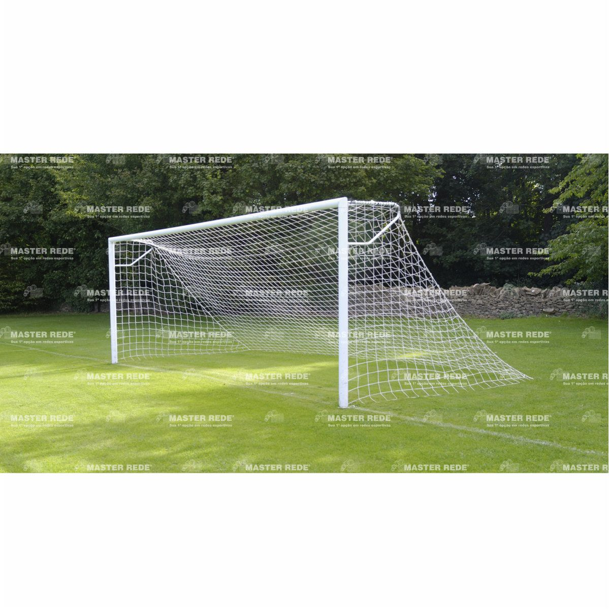 Rede Futebol Campo Master Rede de 7,5M Fio 2MM Seda FC-L2