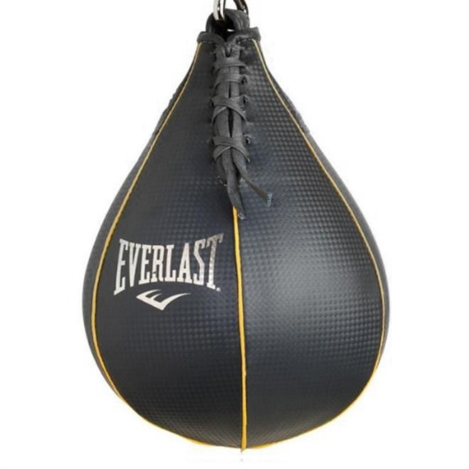 Saco Veloz Para Treino Punch Ball Speed Bag Everlast Cinza model 4215