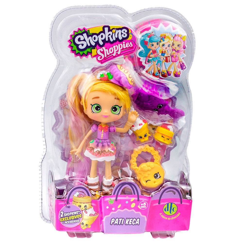 Shopkins Shoppies Boneca Pati Keca DTC 3735