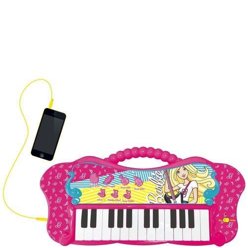 Teclado Fabuloso Com Função MP3 Player Barbie Fun