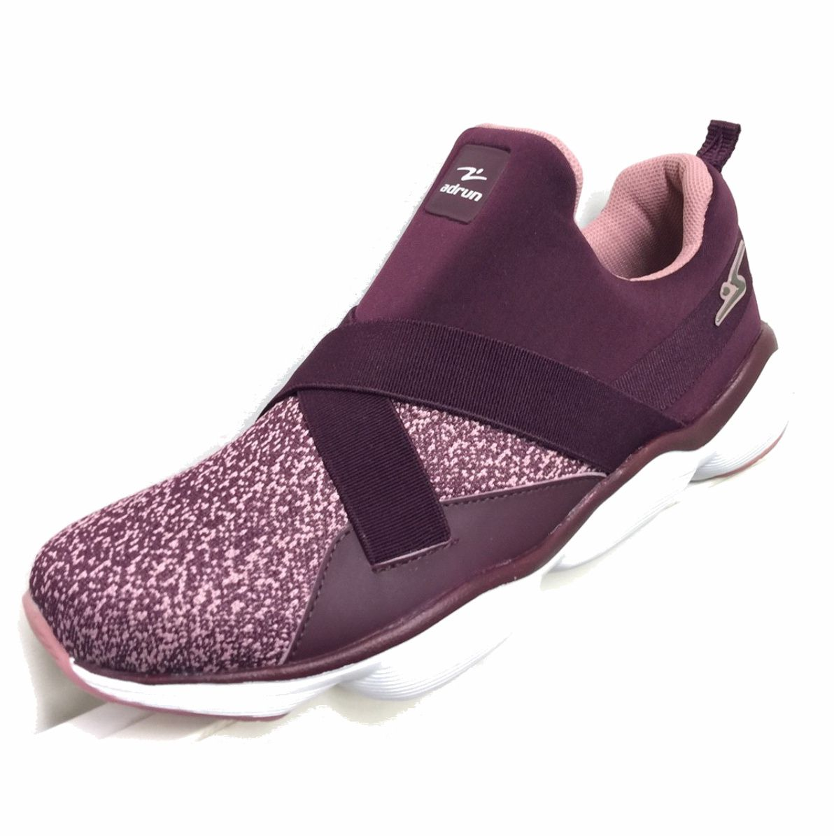 Tenis Adrun Soft Fit Training Roxo Rosa