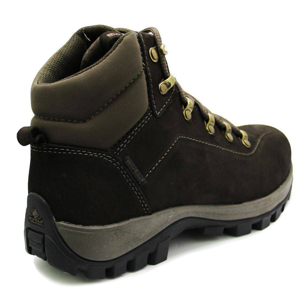 Bota Adventure Macboot Agata 02 Carajas Couro Marron