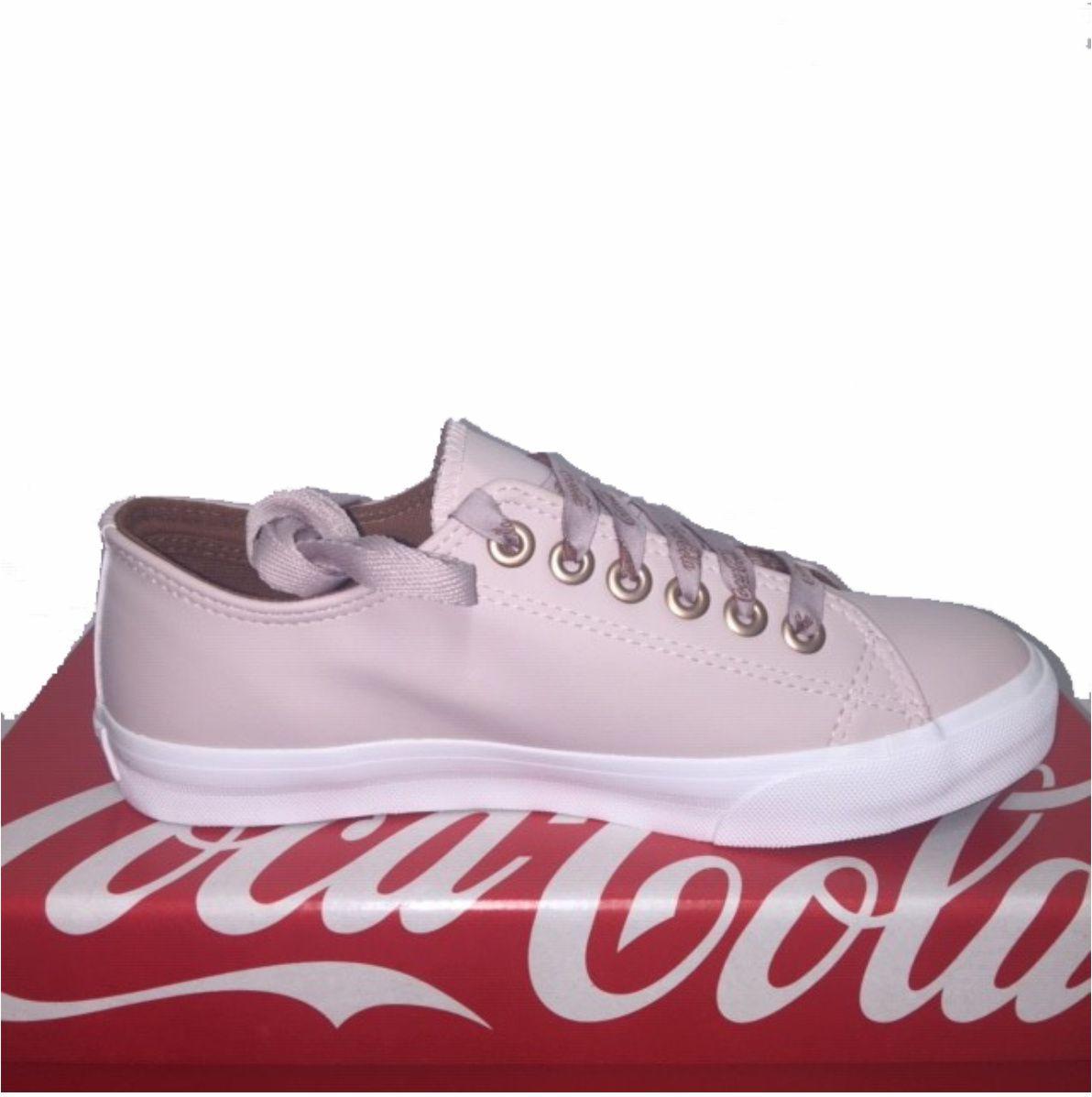 Tenis Coca Cola Basket Floater Cc1597 Rose