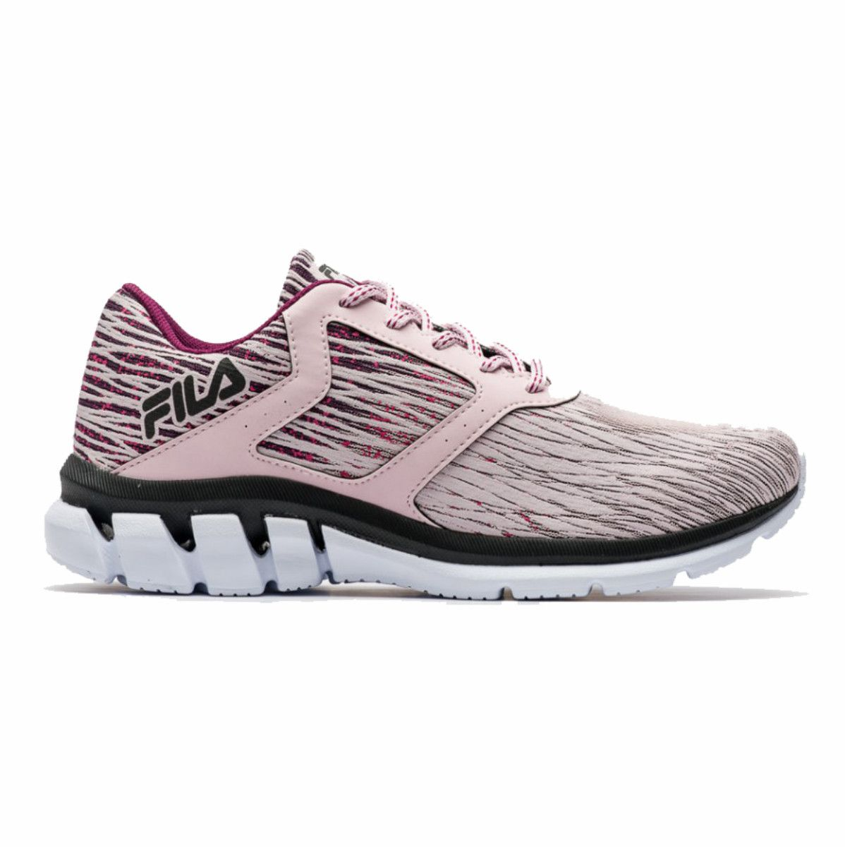 Tenis Fila Elevate Rosa Feminino Running Training