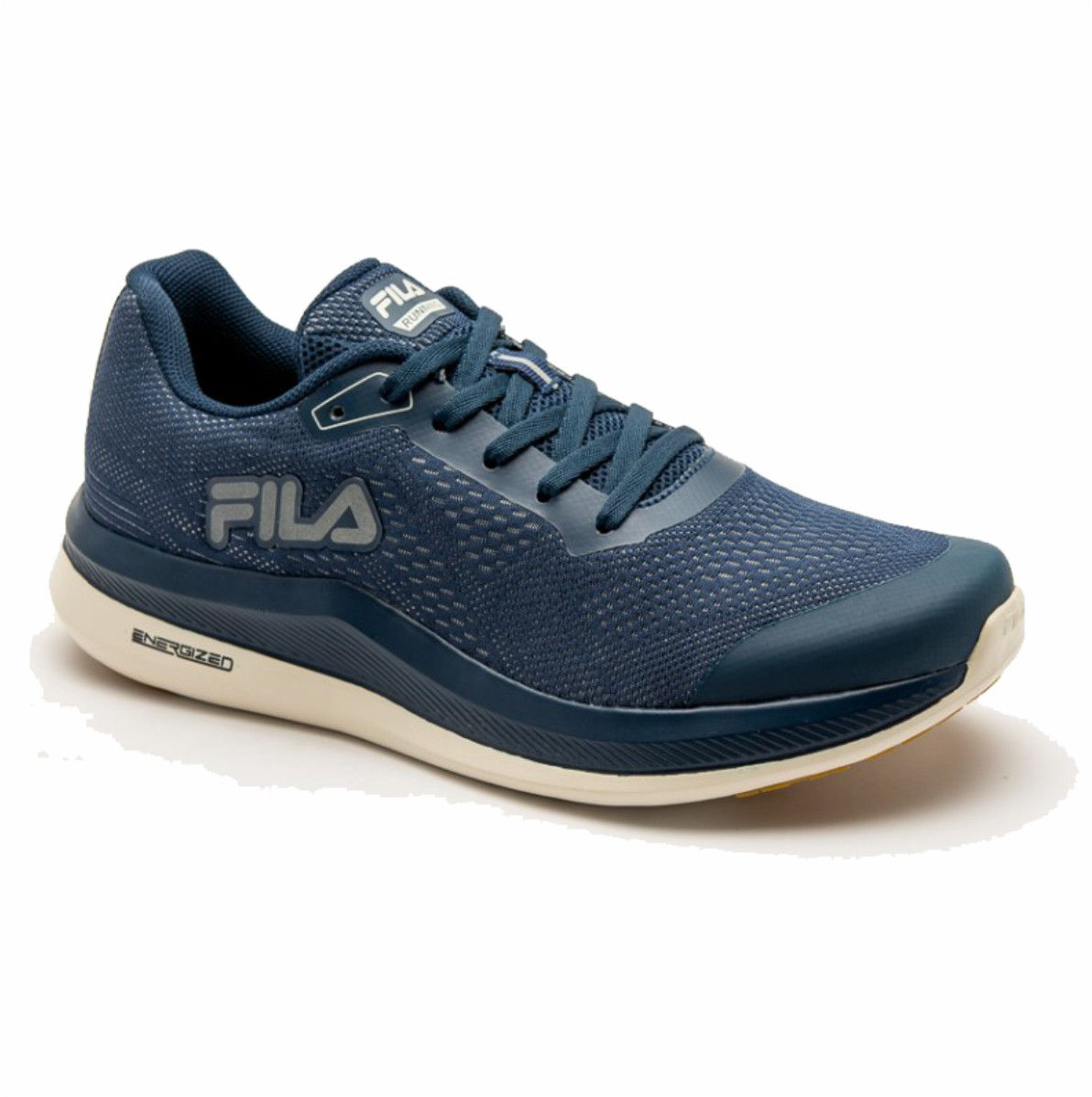 Tenis Fila FR Light Energized Masculino Marinho Off White